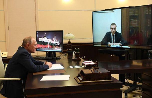 Путин назначил врио руководителей Мордовии и Белгородской области