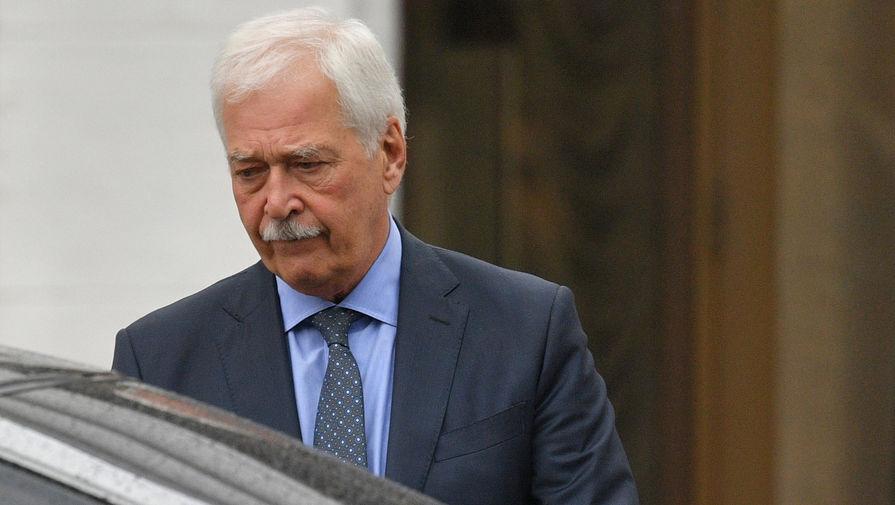 Грызлов обвинил Украину в создании гуманитарной катастрофы в Донбассе