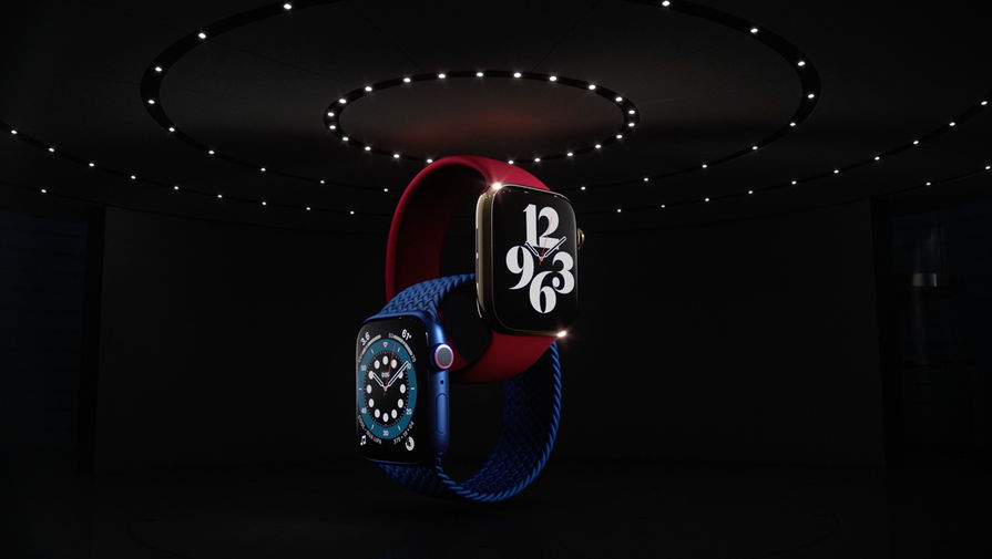 Apple показала новые Apple Watch Series 6