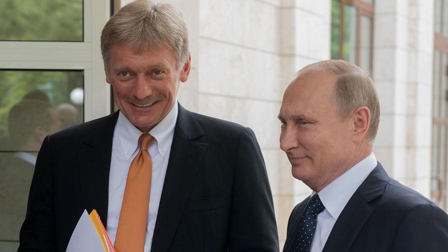 Песков рассказал о здоровье Путина