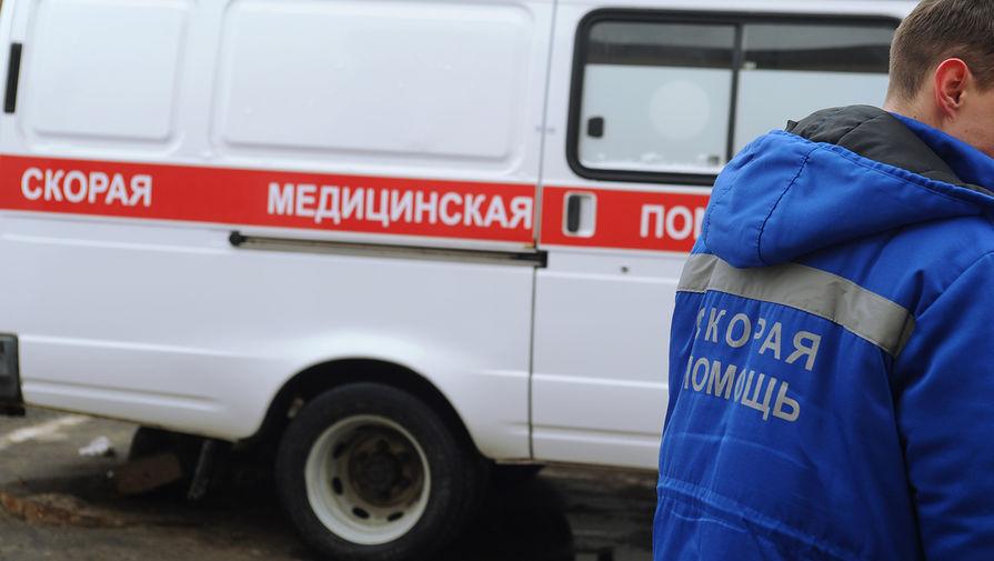 Грузовик насмерть раздавил человека в Москве