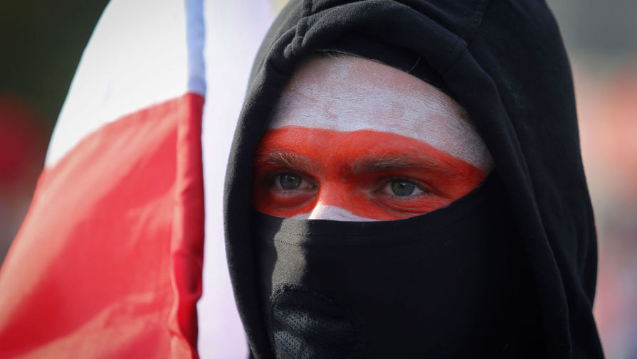 На марш оппозиции в Минске собрались около 15 тысяч граждан