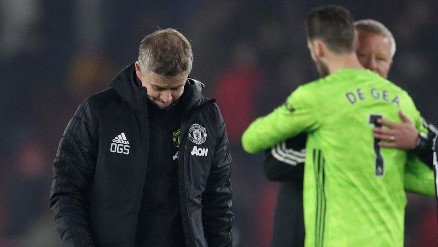 Сульшер поделился мнением о философии 'Манчестер Юнайтед'