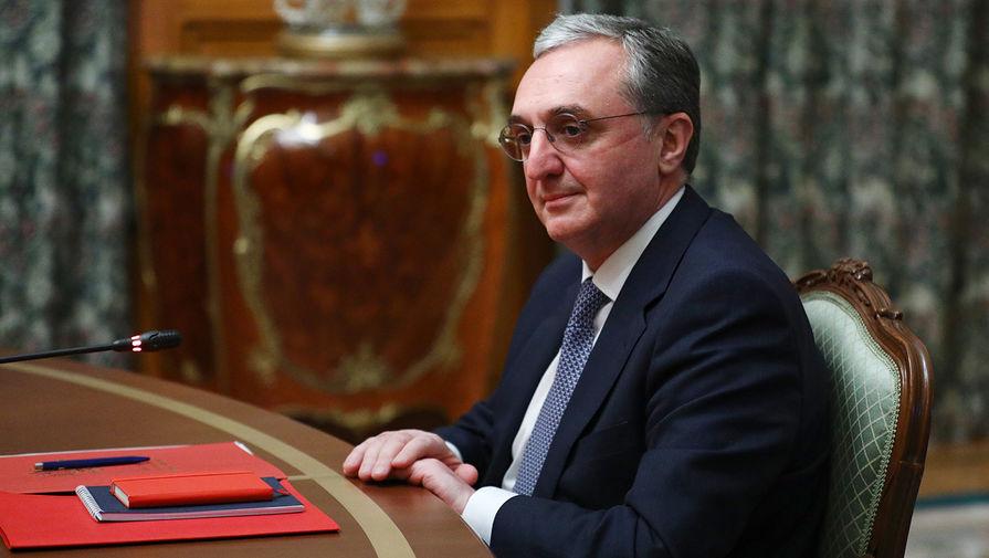 Президент Армении освободил от должности главу МИД страны