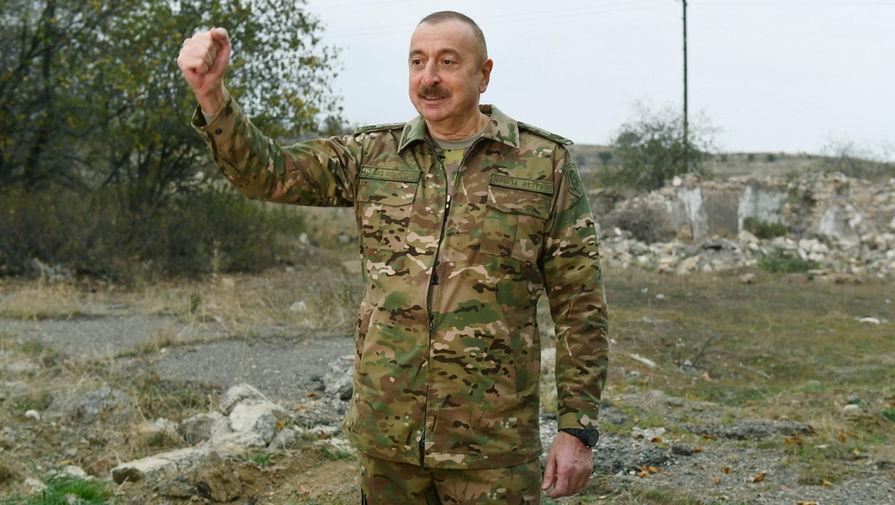 Алиев заявил о давлении на Баку во время эскалации в Карабахе