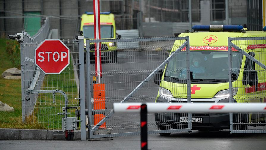 Хлопок газа произошел в одном из корпусов больницы в Коммунарке