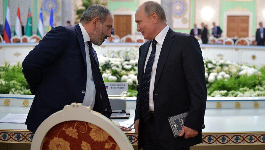 Песков рассказал о телефонном разговоре Путина и Пашиняна