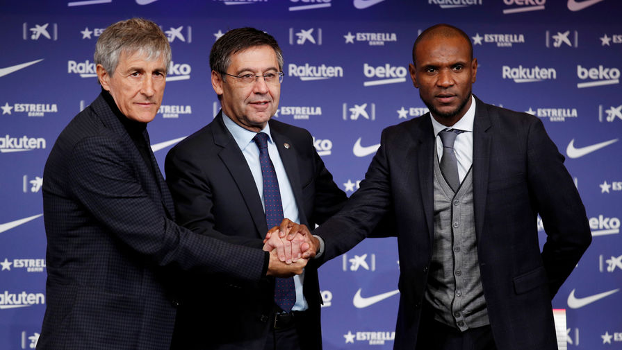 В 'Барселоне' выразили поддержку тренеру Сетьену