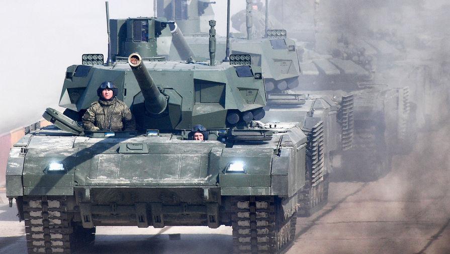 Россия готовит танк 'Армата' к продаже за рубеж