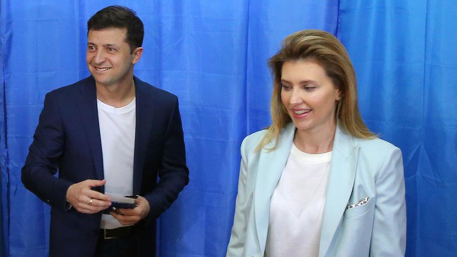 На Украине рассказали о состоянии зараженной COVID-2019 жены Зеленского