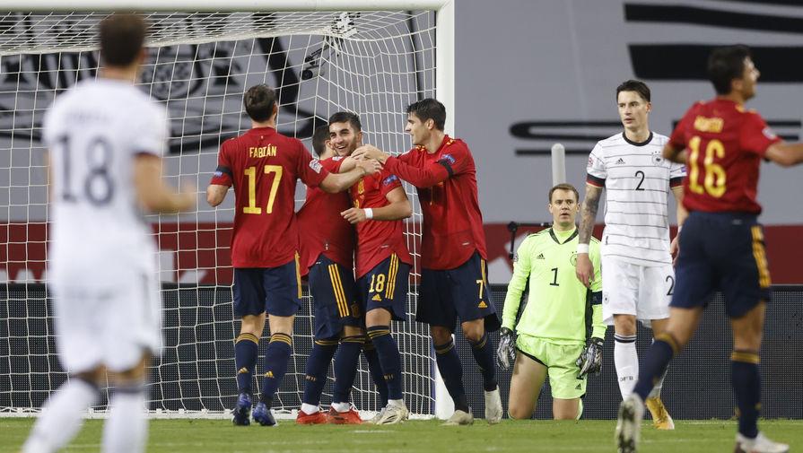 Нападающий сборной Испании подвел итоги игры с командой Германии