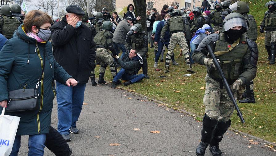 Глава милиции Минска заявил, что в дворах города 'никто ни с кем церемониться не будет'