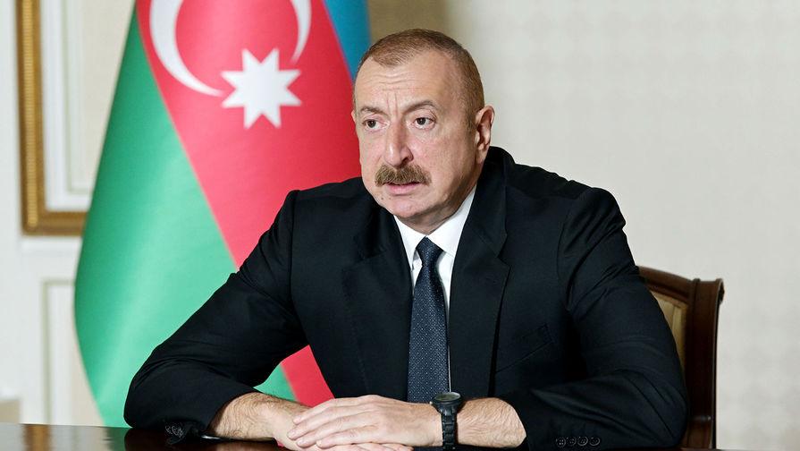 Алиев заявил о взятии под контроль Баку еще ряда территорий в Карабахе