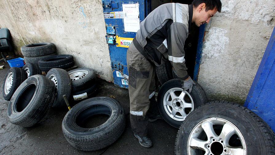 МВД России предлагает запретить ездить зимой на летней резине
