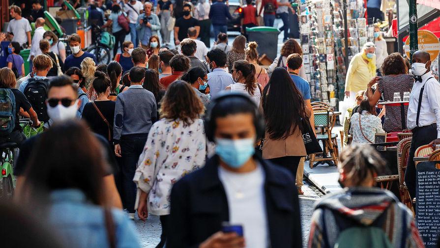 Власти Франции заявили о снижении числа новых случаев выявления COVID-19