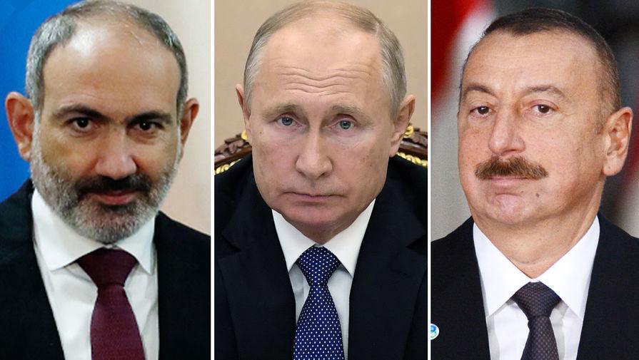Путин: договоренности по Карабаху позволяют справедливо урегулировать конфликт