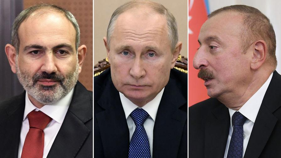 Песков назвал ключевой роль Путина в подписании договора по Карабаху