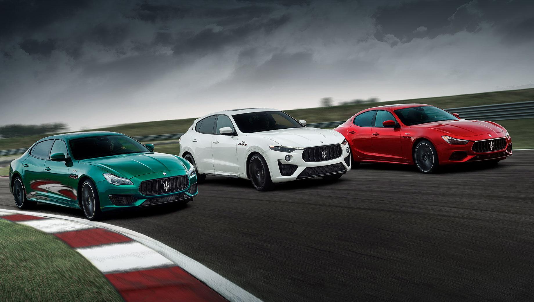 Maserati Ghibli и Quattroporte включены в линейку Trofeo