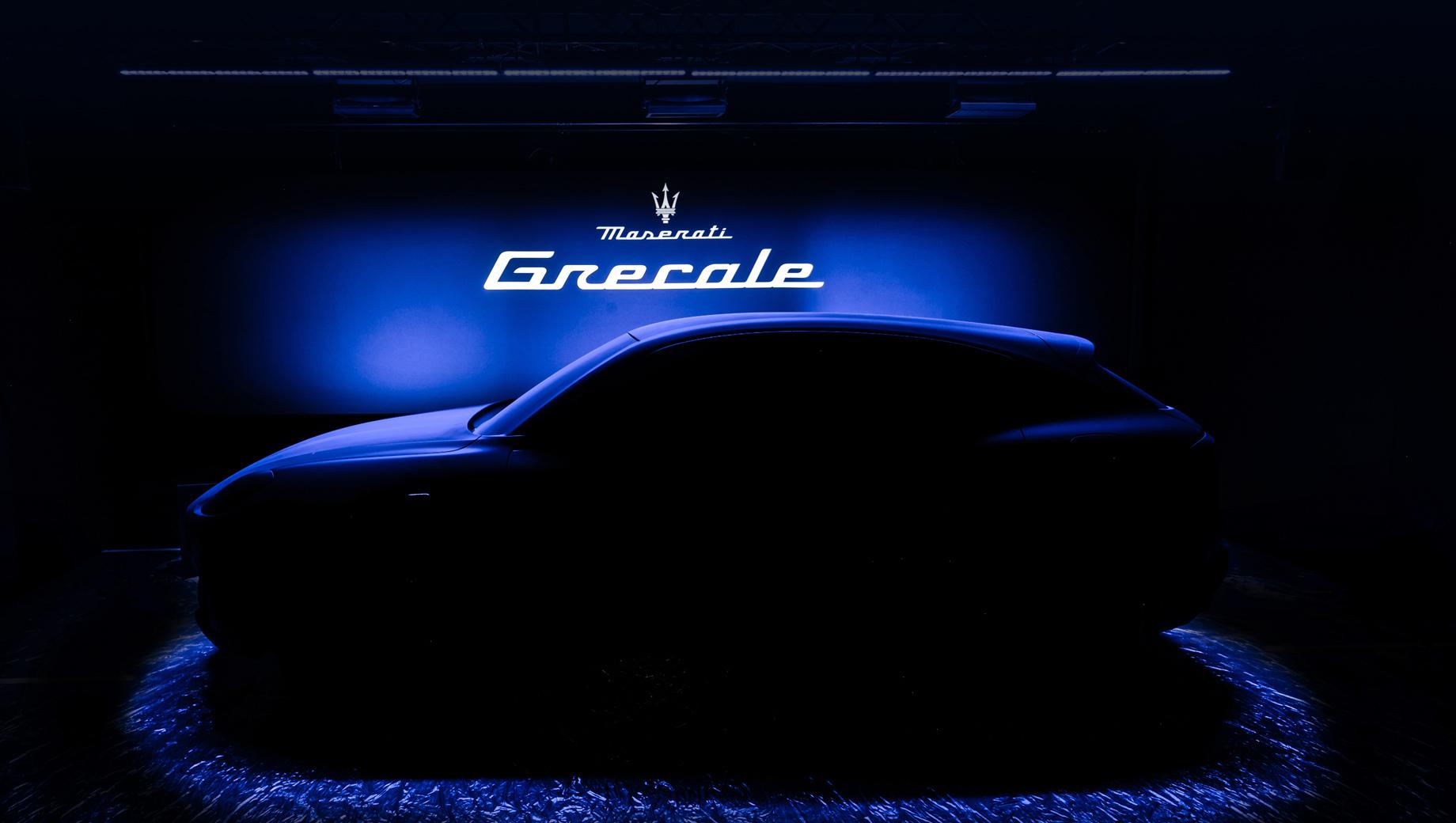 Кроссовер Maserati Grecale впервые показан на тизере