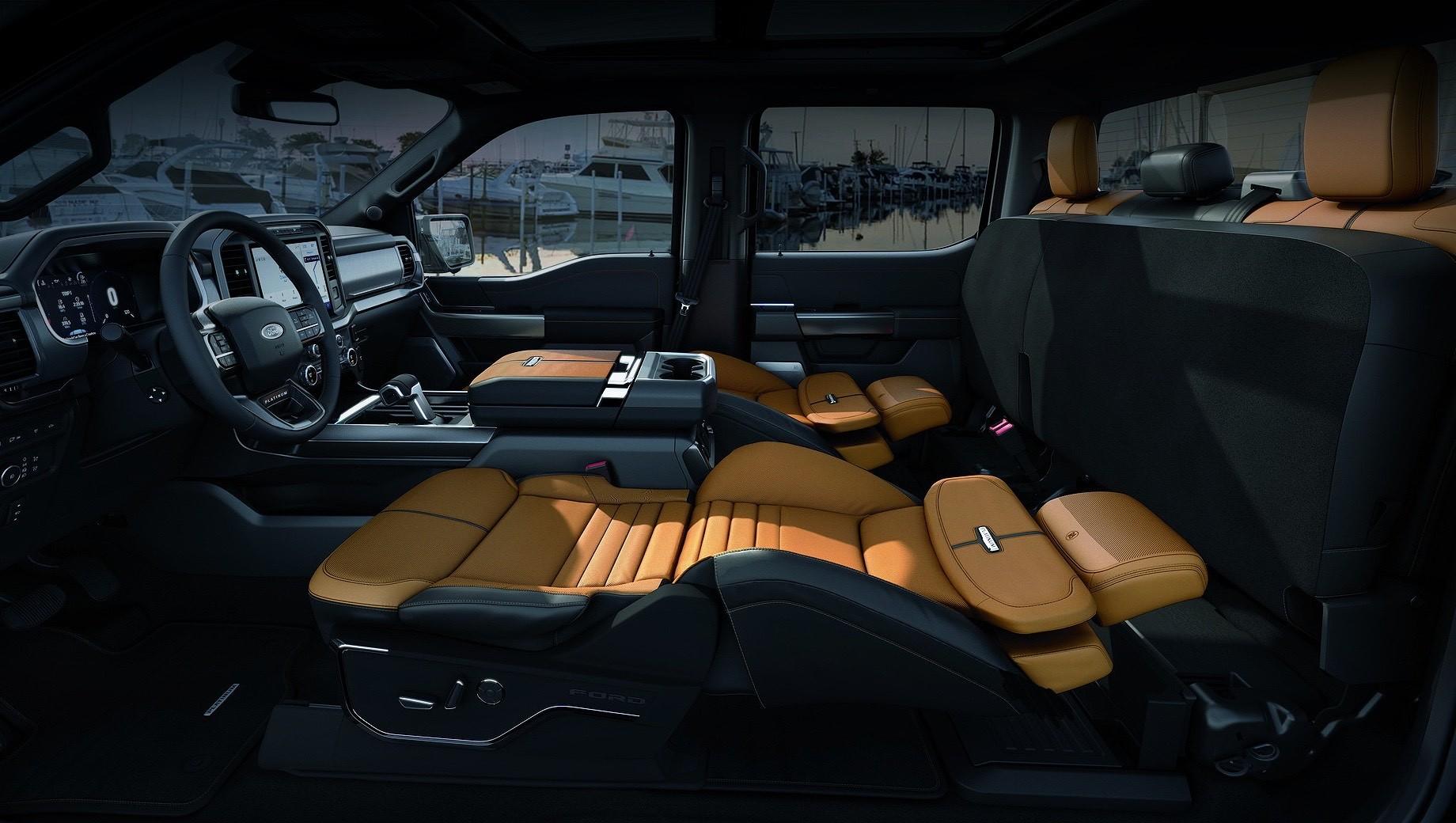 Ford F-150 предложил владельцам хорошенько отдохнуть
