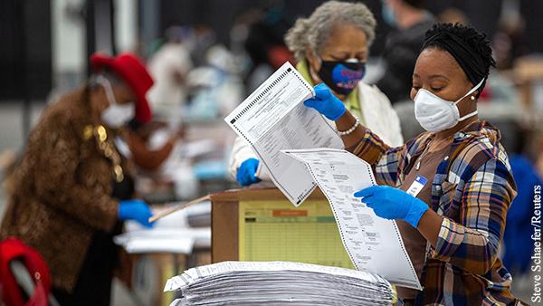 В Джорджии при пересчете нашли более 2,6 тыс. неучтенных голосов