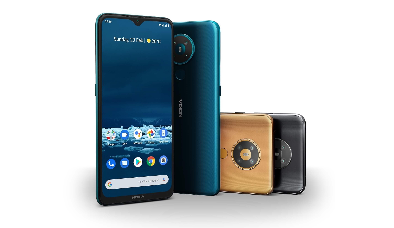 Nokia 5.3 выходит в России по цене 14 990 рублей