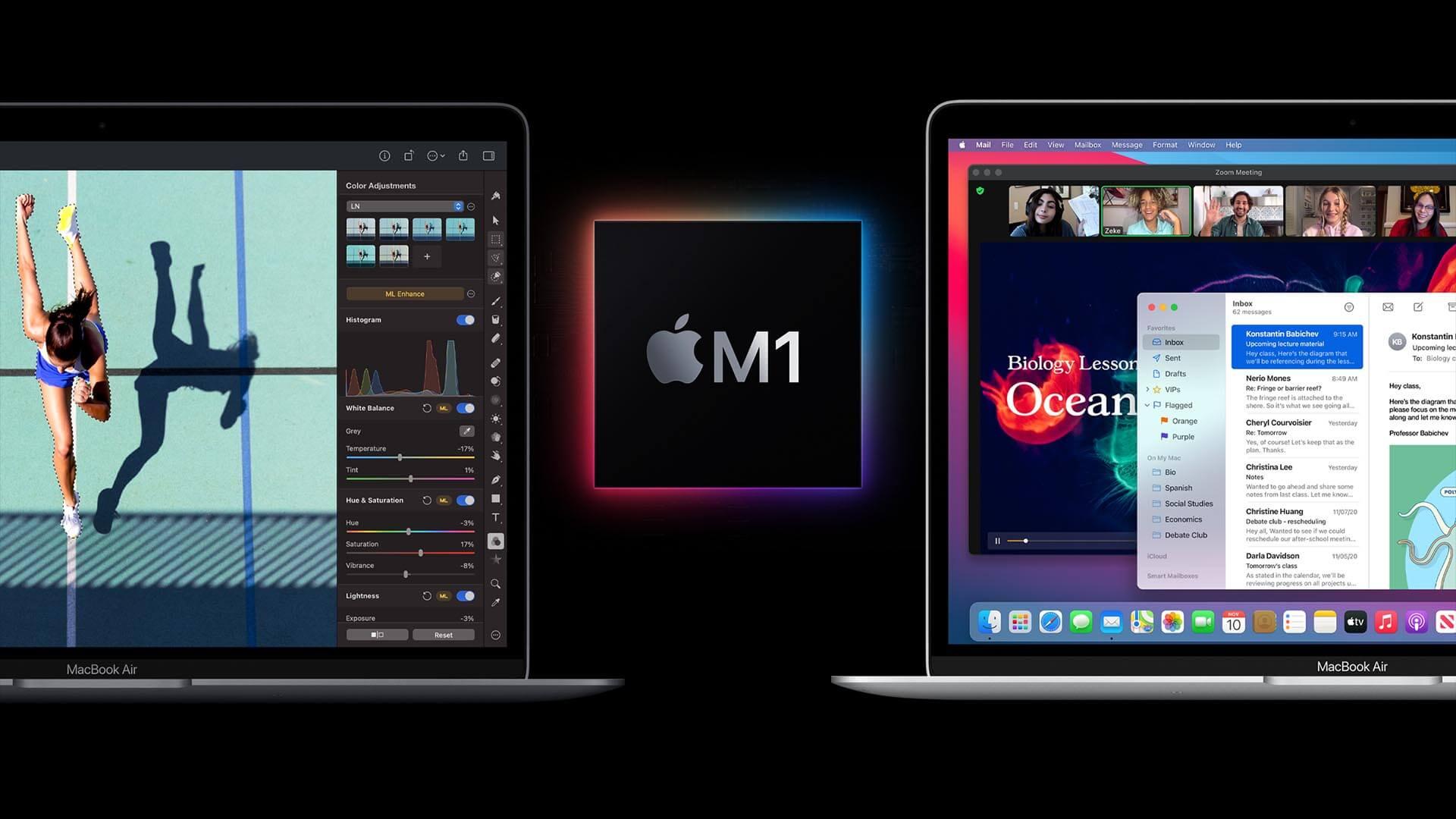 Новые Mac на процессоре Apple M1 вышли в России
