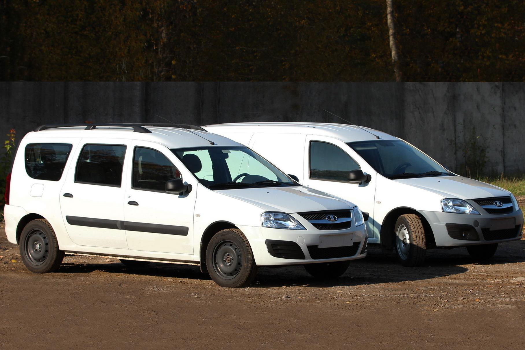 Универсалы Lada Largus оказались в дефиците в России