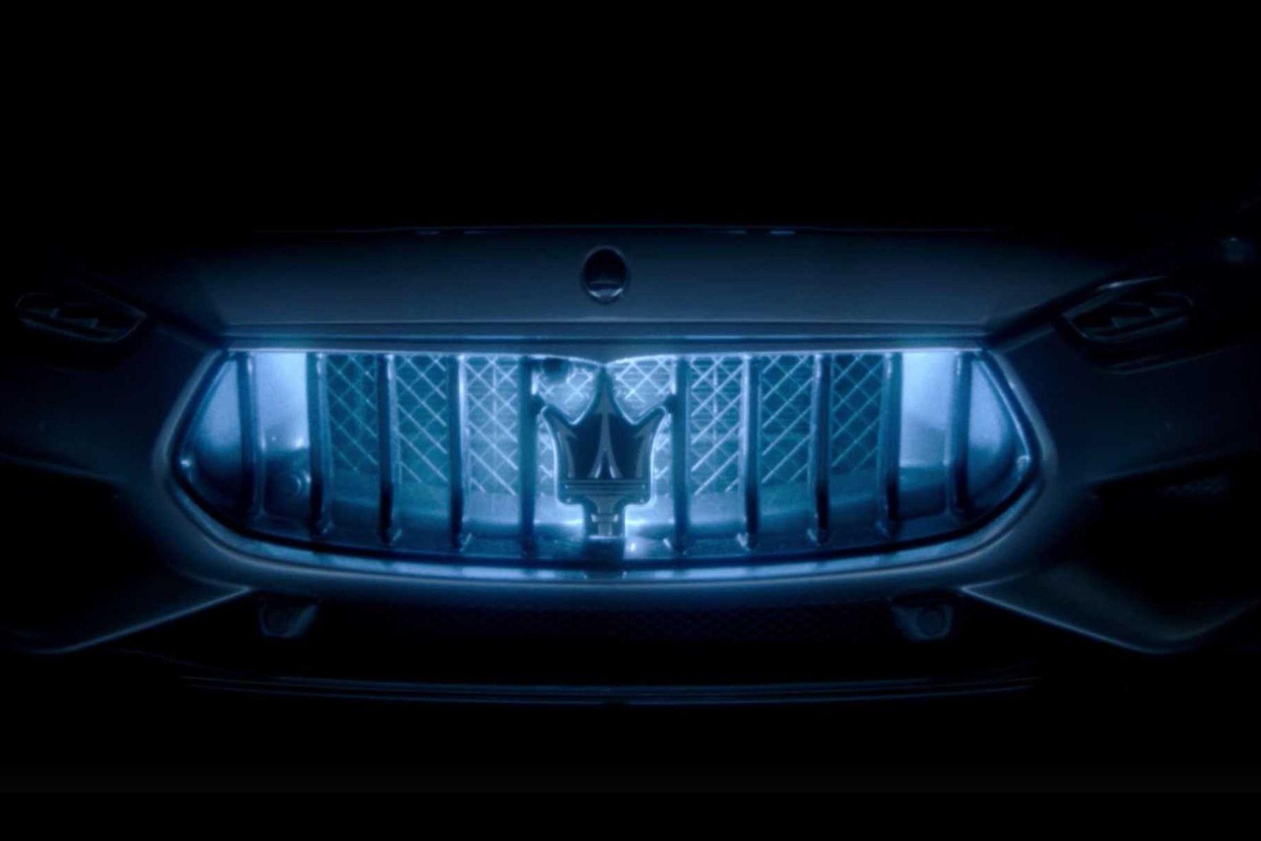 Видео: Maserati частично раскрыла внешность гибрида Ghibli