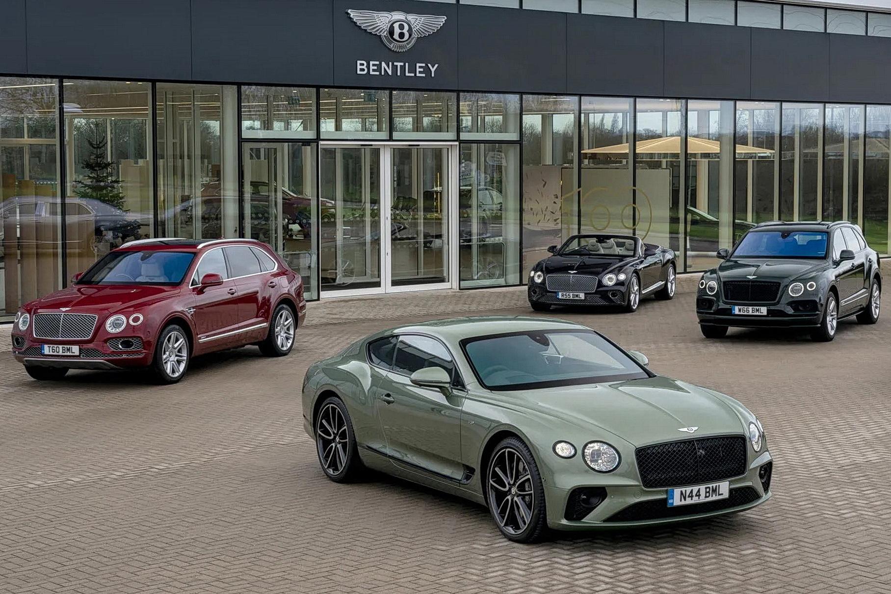 Bentley не стремится увеличивать ежегодные продажи, и вот почему