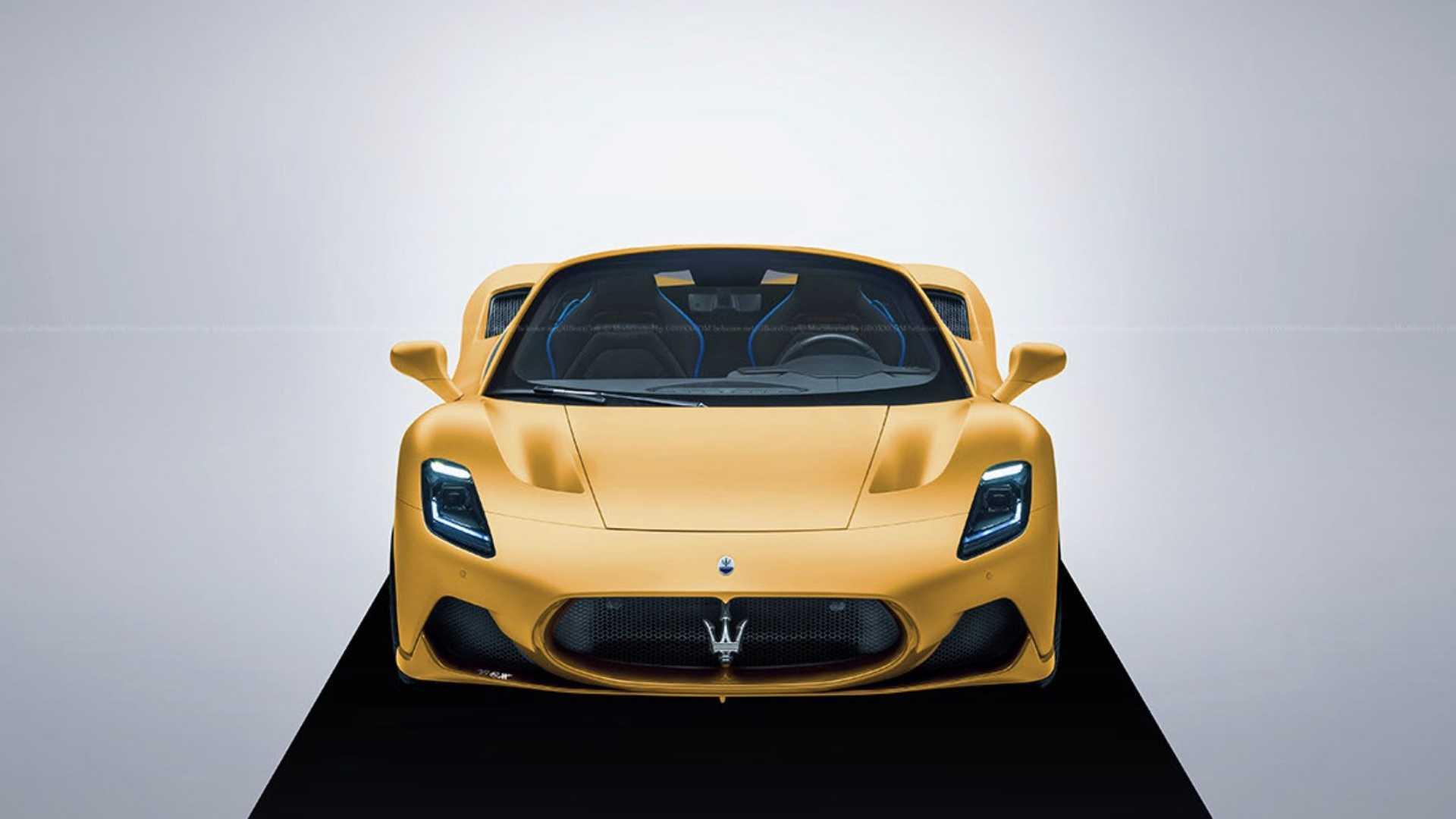 Посмотрите, как выглядит Maserati MC20 без крыши