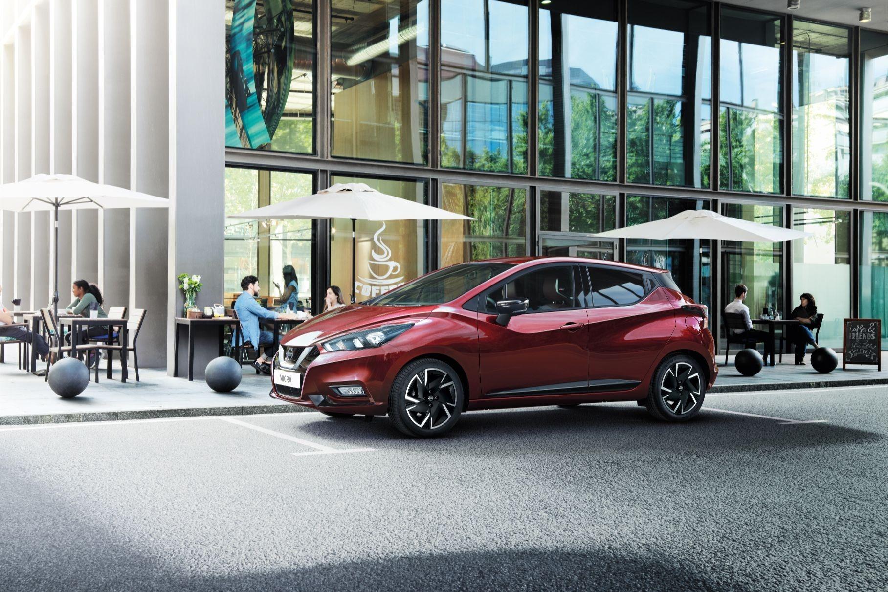Nissan Micra обновилась и получила дизайнерскую версию