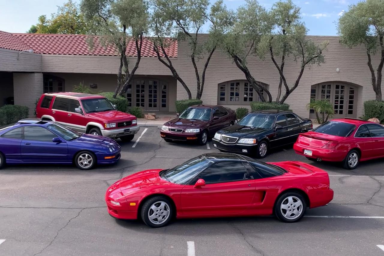 Американец повторил рекламу Acura 90-х годов