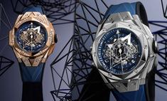 Синий — новый черный: Hublot представил часы Big Bang Sang Bleu II