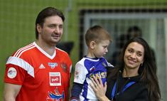Сын Эдгарда Запашного в свои 3 года увлекся футболом
