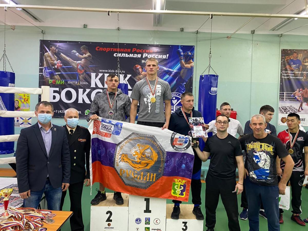 Турнир по кикбоксингу прошел во Владивостоке
