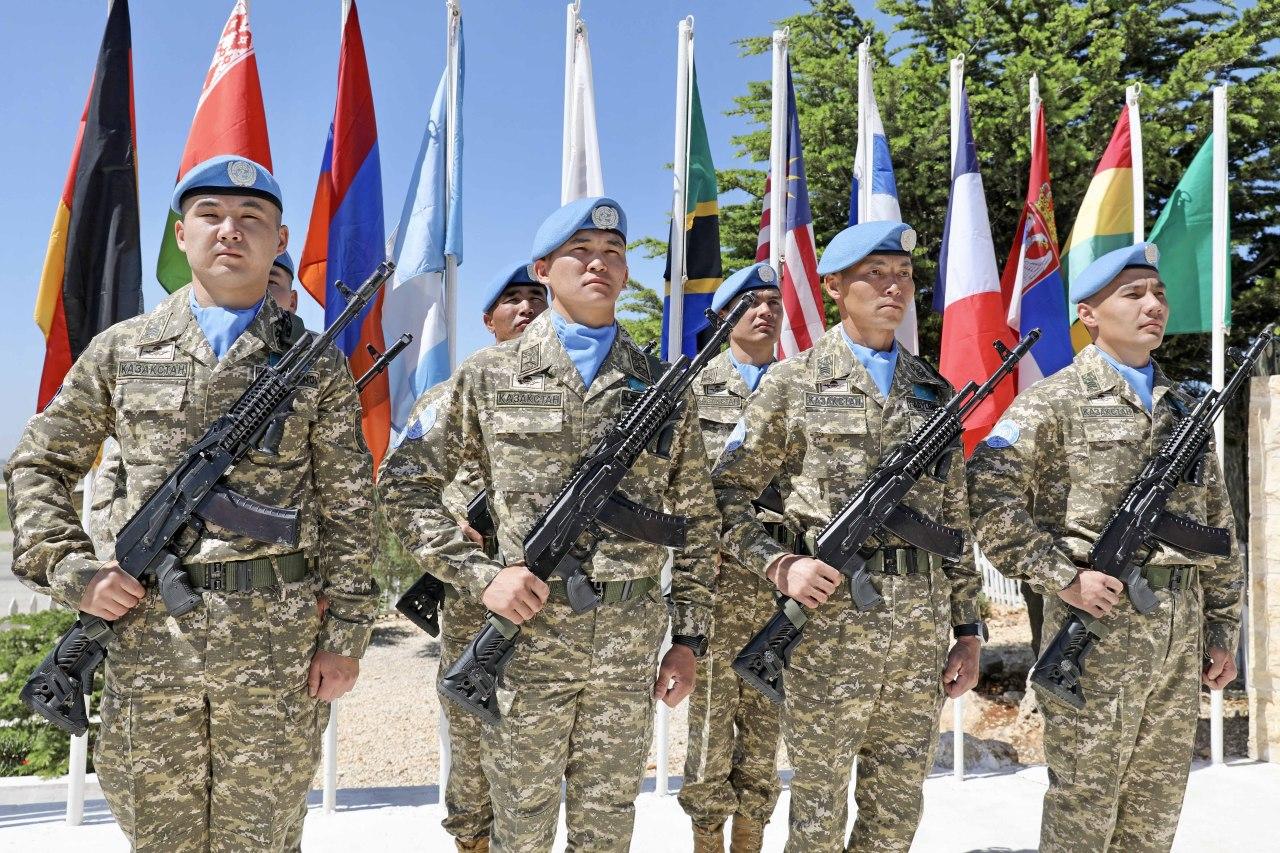 Миротворцы как часть внешней политики Казахстана