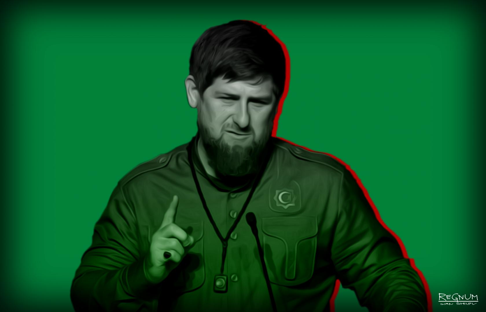 Кадыров потребовал убрать героев американских фильмов из детских центров