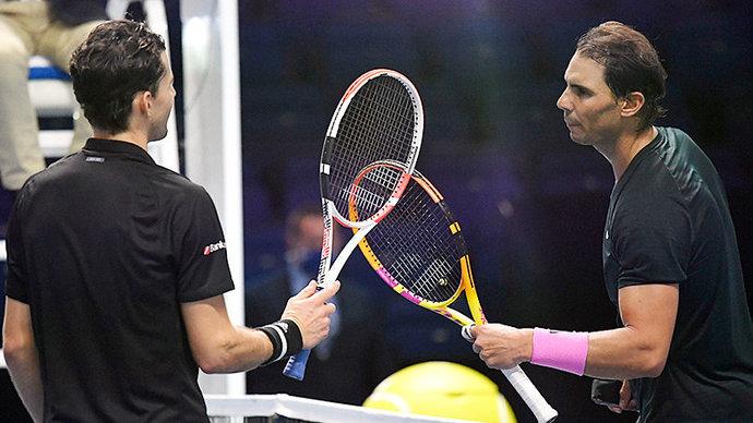 Тим обыграл Надаля на Итоговом турнире ATP