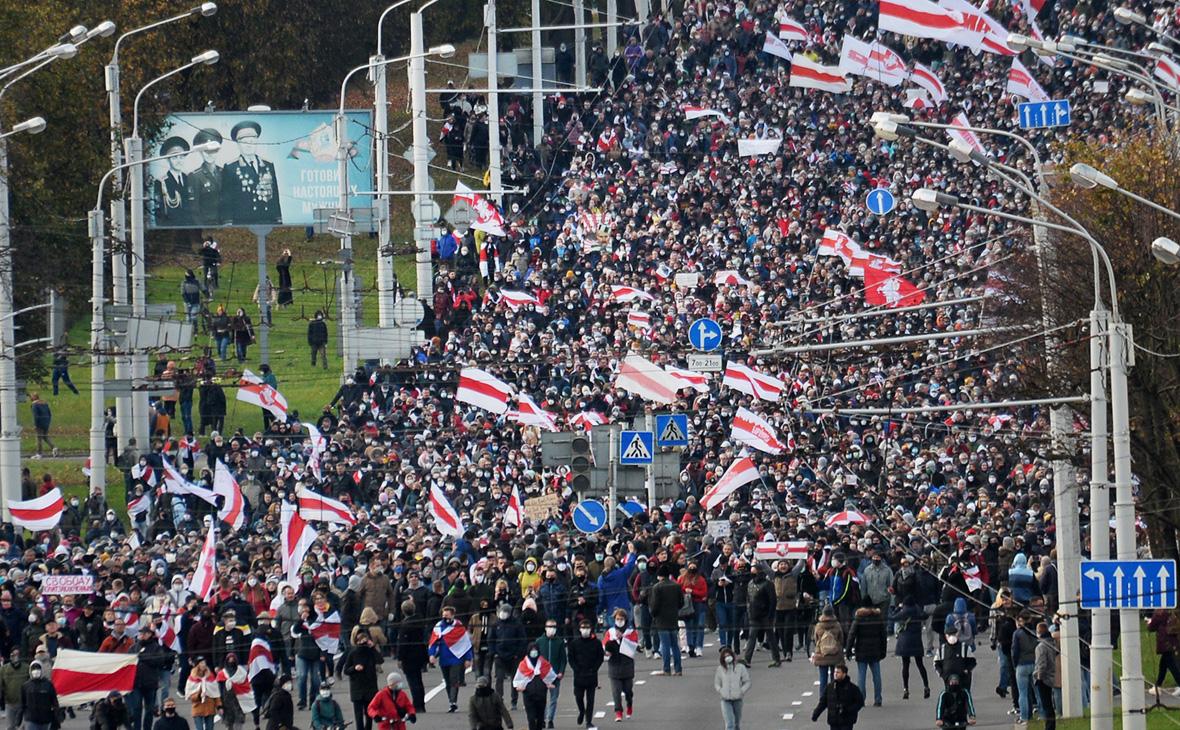 В Минске ограничили мобильный интернет на фоне новых протестов