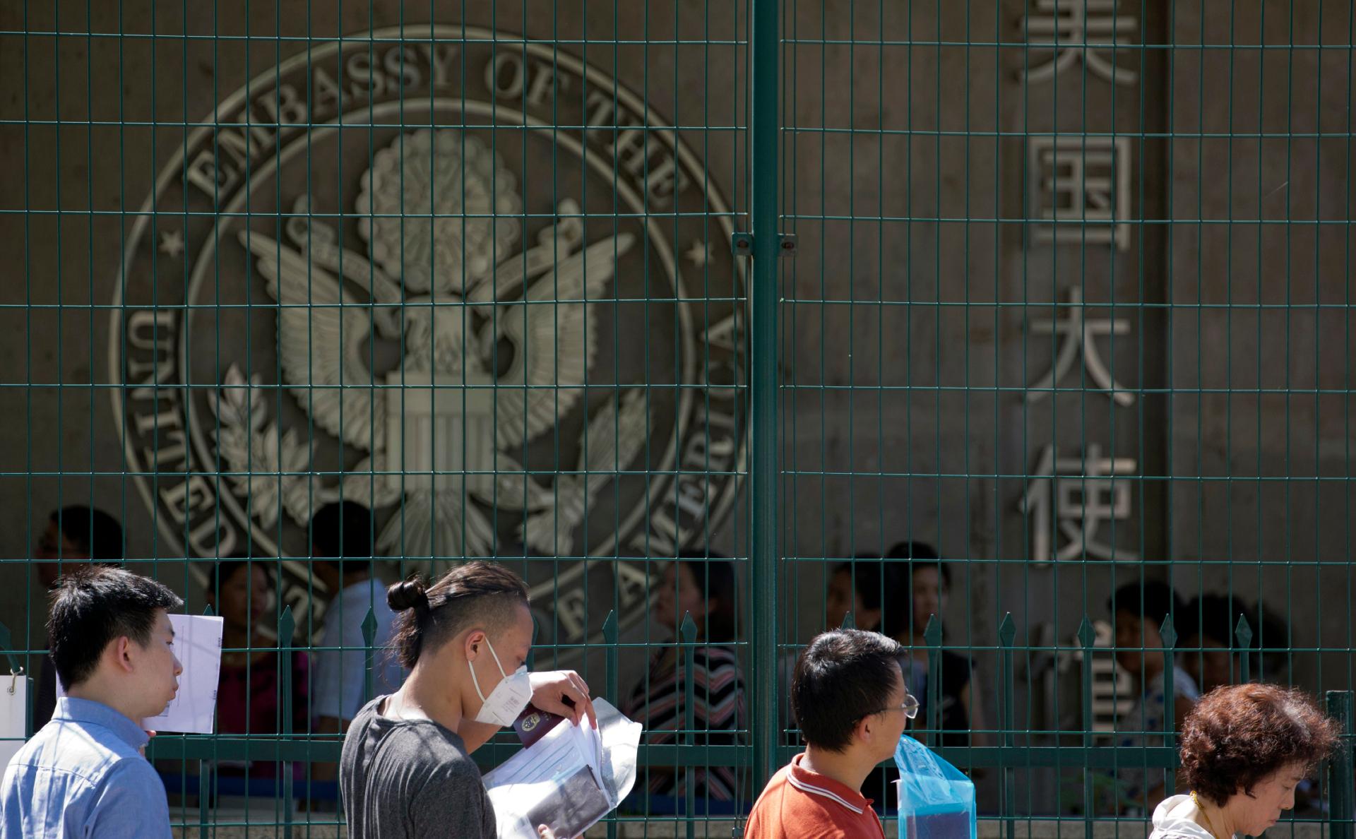 WSJ узнала о предупреждении Китая о возможных задержаниях граждан США