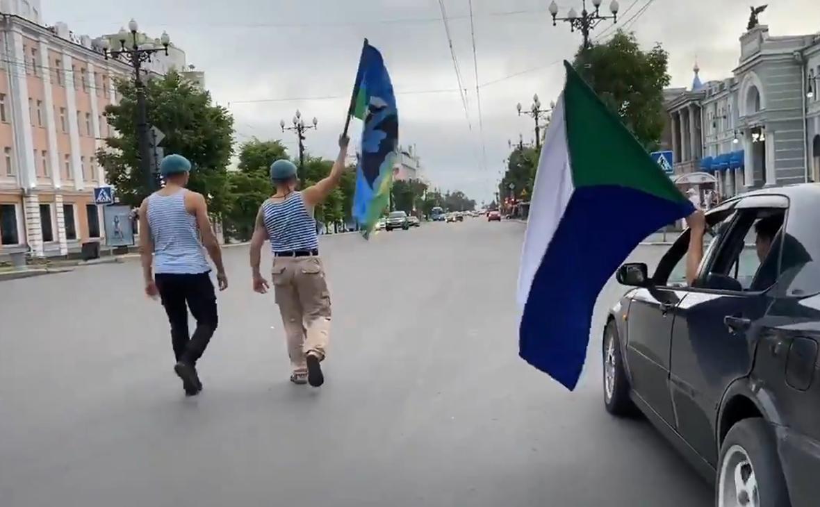 В Хабаровске вновь провели шествие в поддержку Фургала