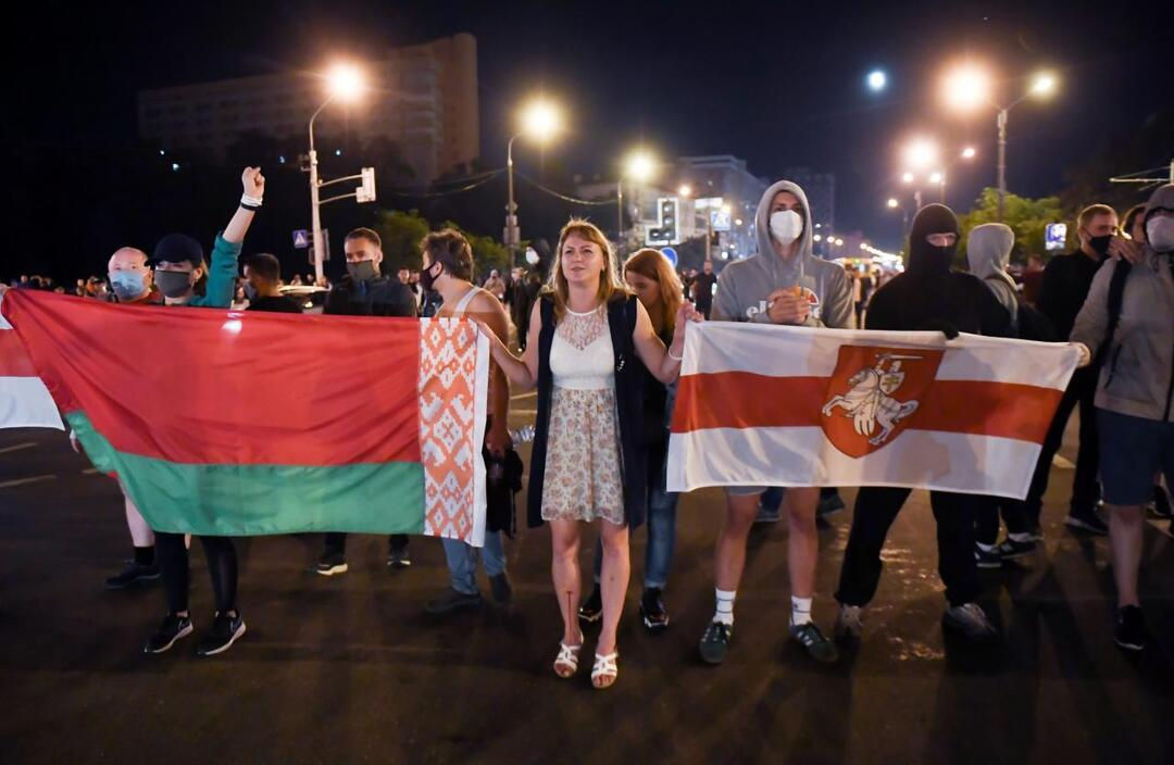 Ущерб от акций протеста в Минске оценили в $350 000