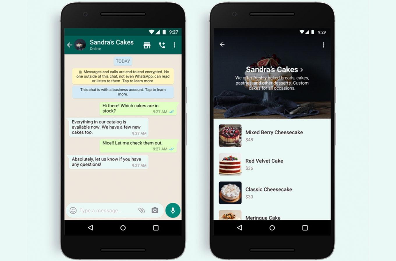 WhatsApp добавил кнопку «Магазин». Теперь в приложении можно просматривать ассортимент магазинов