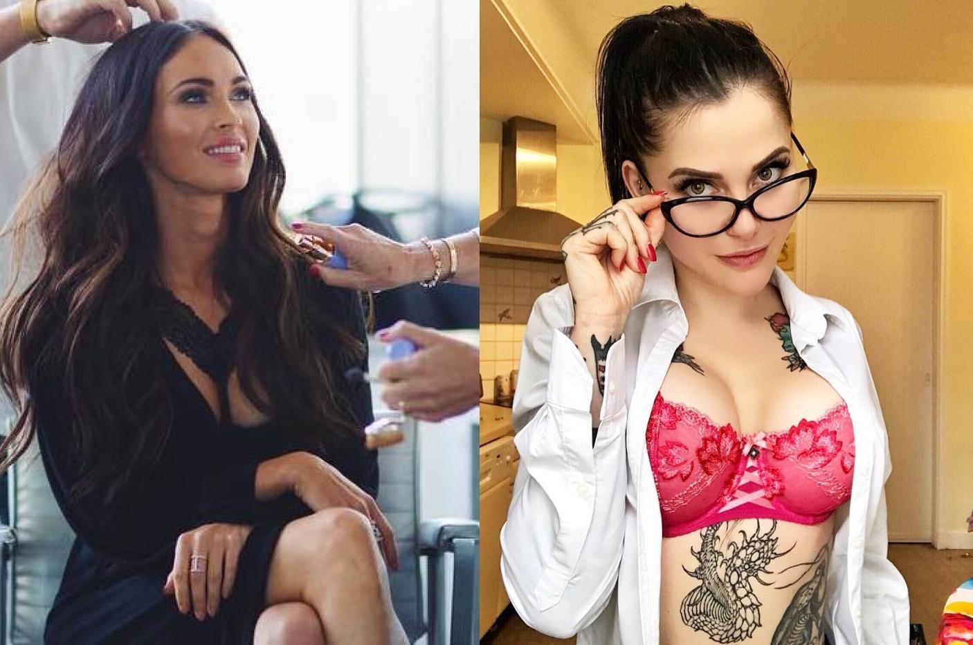 Модель сделала всё возможное, чтобы не быть похожей на Меган Фокс, и теперь всё её тело в татуировках