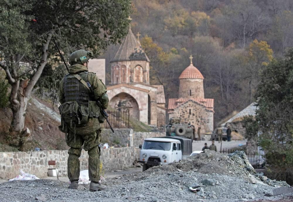 Путин: Отказ от соглашения по Карабаху стал бы для Армении самоубийством